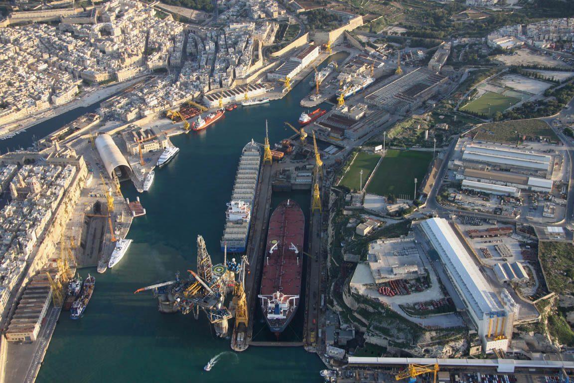 Palumbo Malta Shipyard e SY
