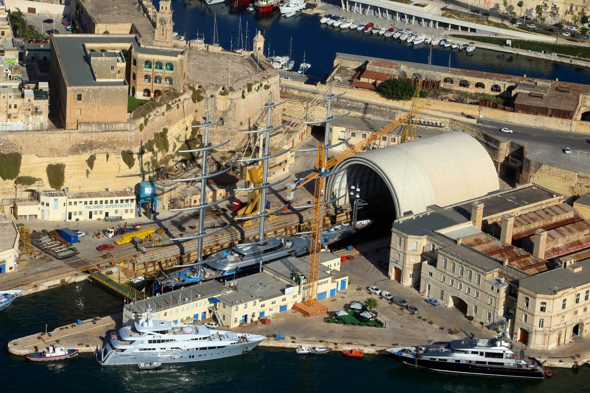 Palumbo Malta Superyachts-Maltese Falcon-Refit-04