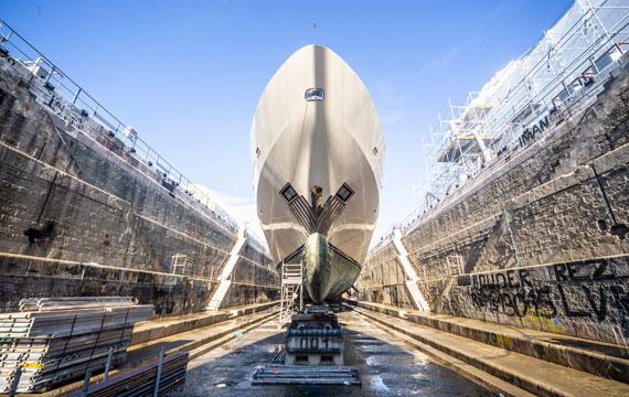 Superyacht refit, repair, maintenance and conversion